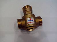 """Трехходовой термостатический клапан 1"""" (55 градусов)  тепломикс"""
