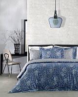 Комплект постельного белья Valeron USC Victorine V03 mavi евро (TAC60224361)