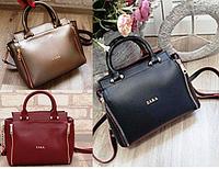 Брендовые женские сумки Zara на 2отд (4цвета)22х26см
