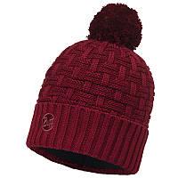 Шапка BUFF Knitted & Polar Hat (зима), airon wine 111021.403.10.00