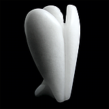 Кварц белый, статуэтка ангел, 114ФГК, фото 3
