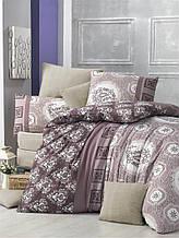 Комплект постельного белья Elena ранфорс Ilgim евро (8699945000651)