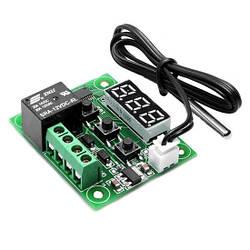 Терморегулятор цифровой W1209 в корпусе 12В (-50...+110) с порогом включения в 0.1 градус