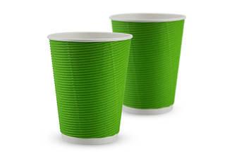Гофрированные стаканы