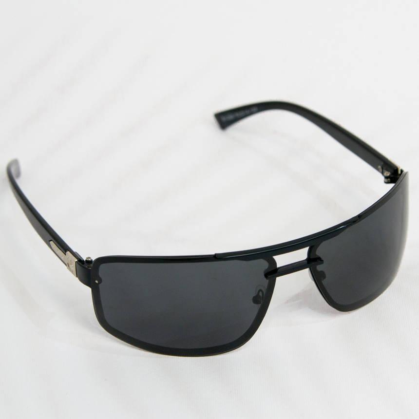 Оптом Очки мужские солнцезащитные поляризационные - Черные - 1288, фото 2