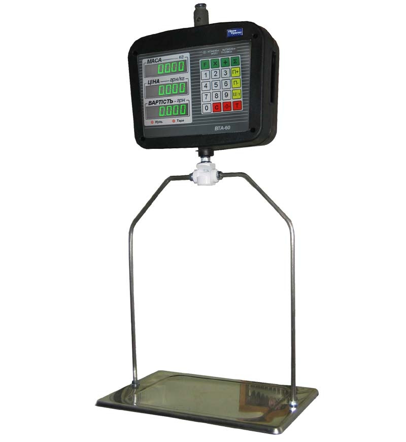 Весы электронные подвесные ВТА-60/15П-5, ВТА-60/30П-5