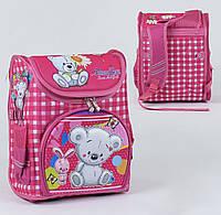 Рюкзак школьный ортопедический С 36164, твердый каркас, 3D принт