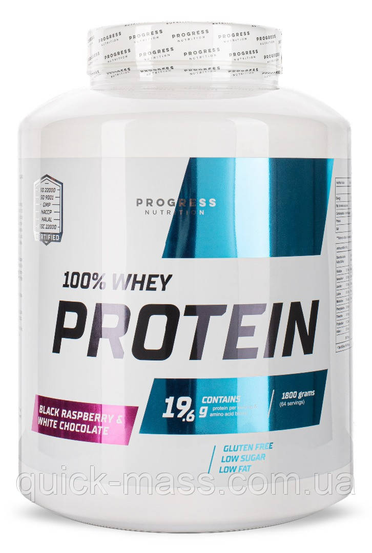 Протеин Progress Nutrition Whey Protein 1800g