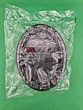 Овальная тарелка одноразовая пластиковая 260 mm Черная (50 шт), фото 4