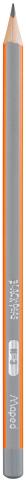 Карандаш графитовый BLACK PEPS H, без ластика (MP.850025)