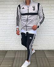 Мужской Спортивный Костюм в стиле Adidas / Турция(размер XXL)