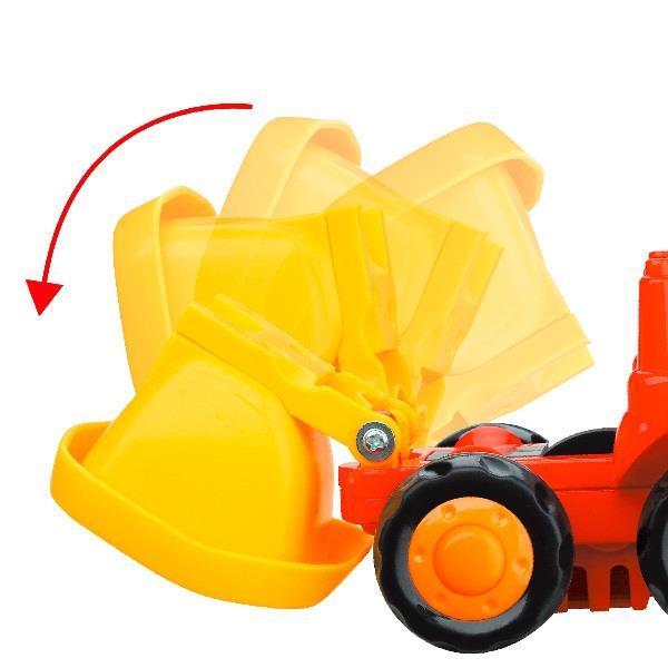 Набор игрушечных машинок Hola Toys Самосвал и бетономешалка, 6 шт. (326CD-6)