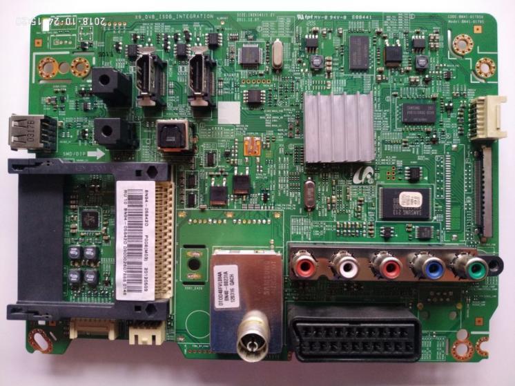 Плата MAIN BN41-01795A телевізора Samsung БУ Оригінал