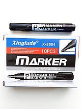 Перманентний маркер чорний Х-8004 10 шт.