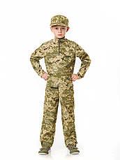 Детский камуфляж костюм для мальчиков Зарница цвет Пиксель, фото 3