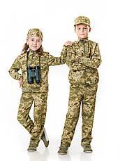 Детский камуфляж костюм для мальчиков Зарница цвет Пиксель, фото 2