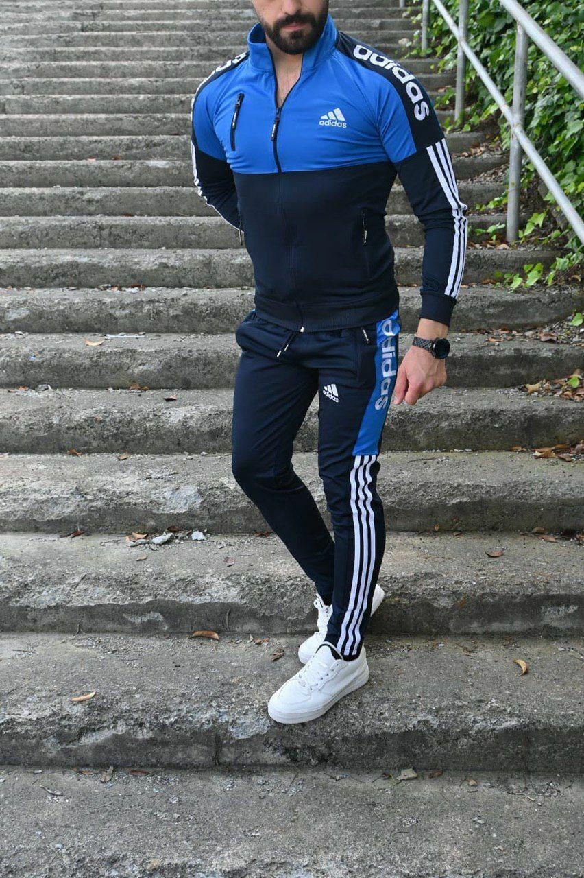 Мужской повседневный спортивный костюм