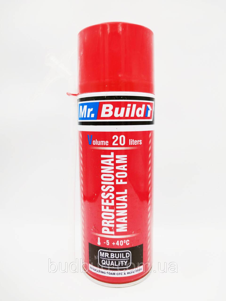 Пена монтажная Mr.Build VM40 ручная всесезонная 500 мл