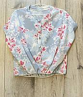 Блузка для дівчаток.( Тканина софт). 128 - 152 зростання.