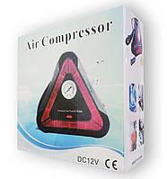 Автомобильный компрессор Air Compressor треугольный знак
