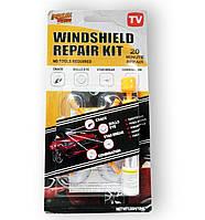 Набір для ремонту тріщин лобового скла Windshield repair kit