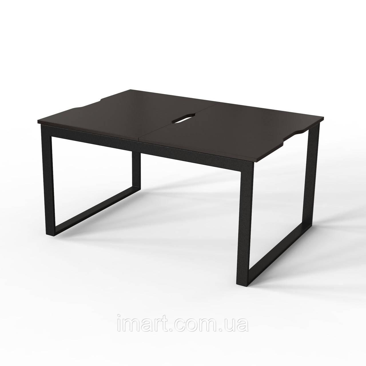 Журнальний стіл Fiji Combo Чорний/Венге