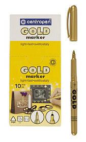 Маркер Centropen 2690 золото