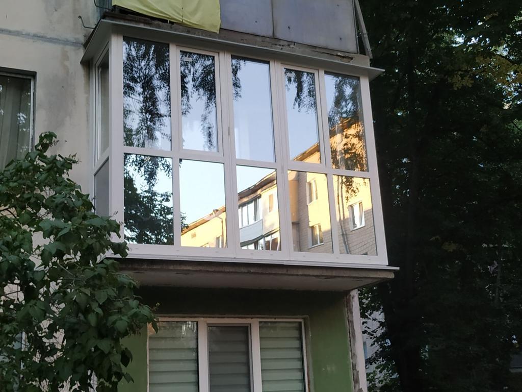 """Балконная рама """"француз"""" - Viknar`off 5"""
