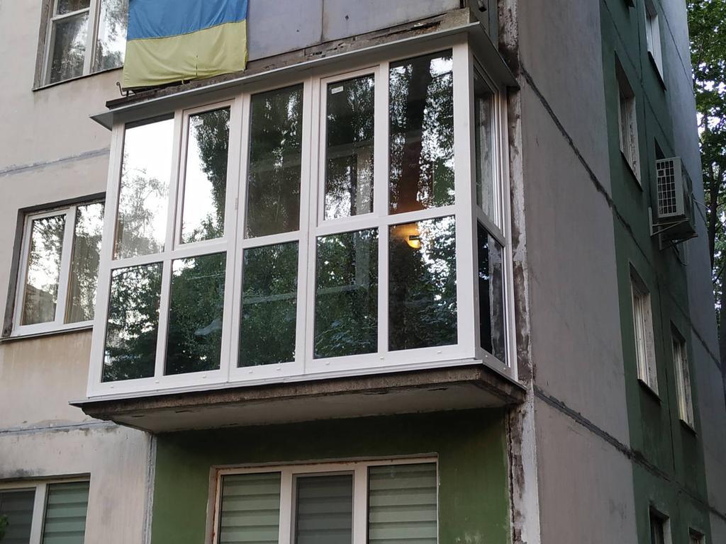 """Балконная рама """"француз"""" - Viknar`off 7"""