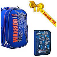 Рюкзак школьный каркасный 1 Вересня H-25 Robot, 35*26*16