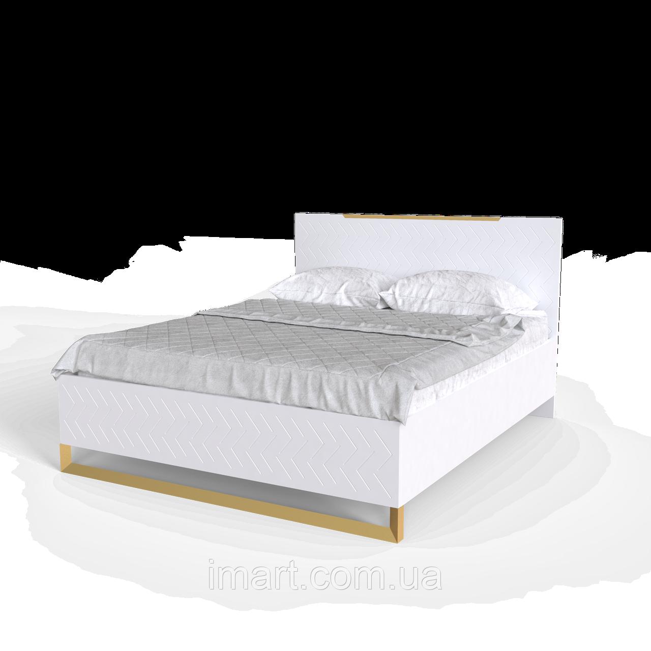 Ліжко Swan Білий супермат (1800*2000)