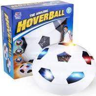 Hoverball - Аэромяч для домашнего футбола Hover Ball Ховербол Белый обод LED