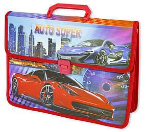 """Папка-портфель """"Racing car+Girls"""" 35х25см, mix"""