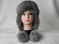 Женская зимняя меховая шапка (код 7451)