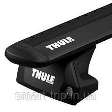 Багажник (комплект) Thule Evo WingBar Flush Rail 7106 Черный авто с интегрированными рейлингами 7106-711XB-KIT