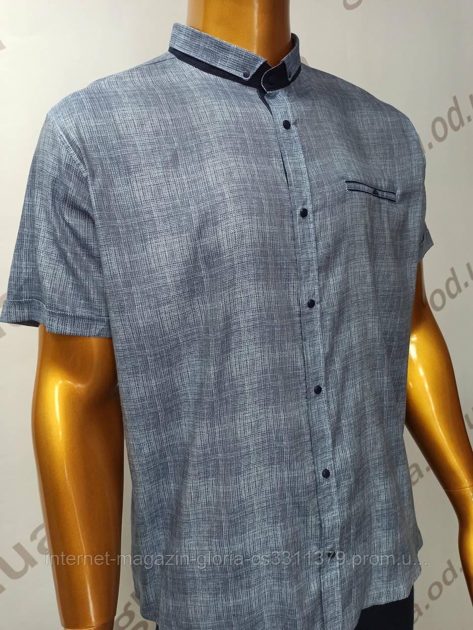 Мужская рубашка Amato. AG  29744(g).Батал. Размеры: 2XL,3XL,4XL,5XL.