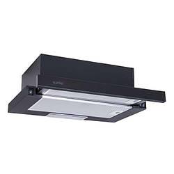 Витяжка Ventolux GARDA 50 BK (700) SLIM Телескопічна Чорна