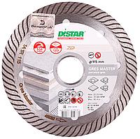 Круг алмазный Distar 1A1R GRES MASTER 115 мм отрезной диск по твердому керамограниту для УШМ (11115160009)