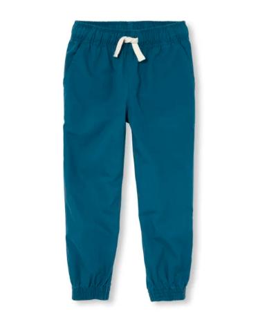 Синие штаны для мальчика 6-7 лет