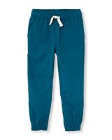 Синие штаны для мальчика 6-8 лет