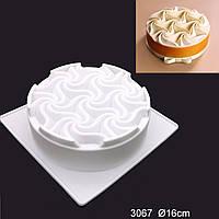 Силиконовая форма для евро-десертов Bubbles Stone