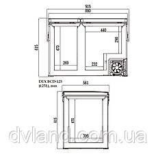 Автохолодильник-морозильник DEX BCD-125 125л Компрессорный, фото 2