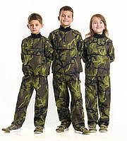 Детский камуфляж костюм Зарница для мальчиков расцветка Чешский Лес