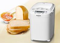 Хлібопічка Panasonic SD-2510 WTS (550Вт, 1000гр, 13 програм, джем, білий)