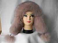 Женская зимняя меховая шапка (код 91912)