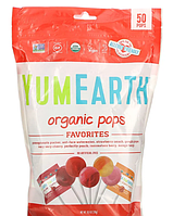 YumEarth, Органічні льодяники, асорті, 50 льодяників, 348,7 р