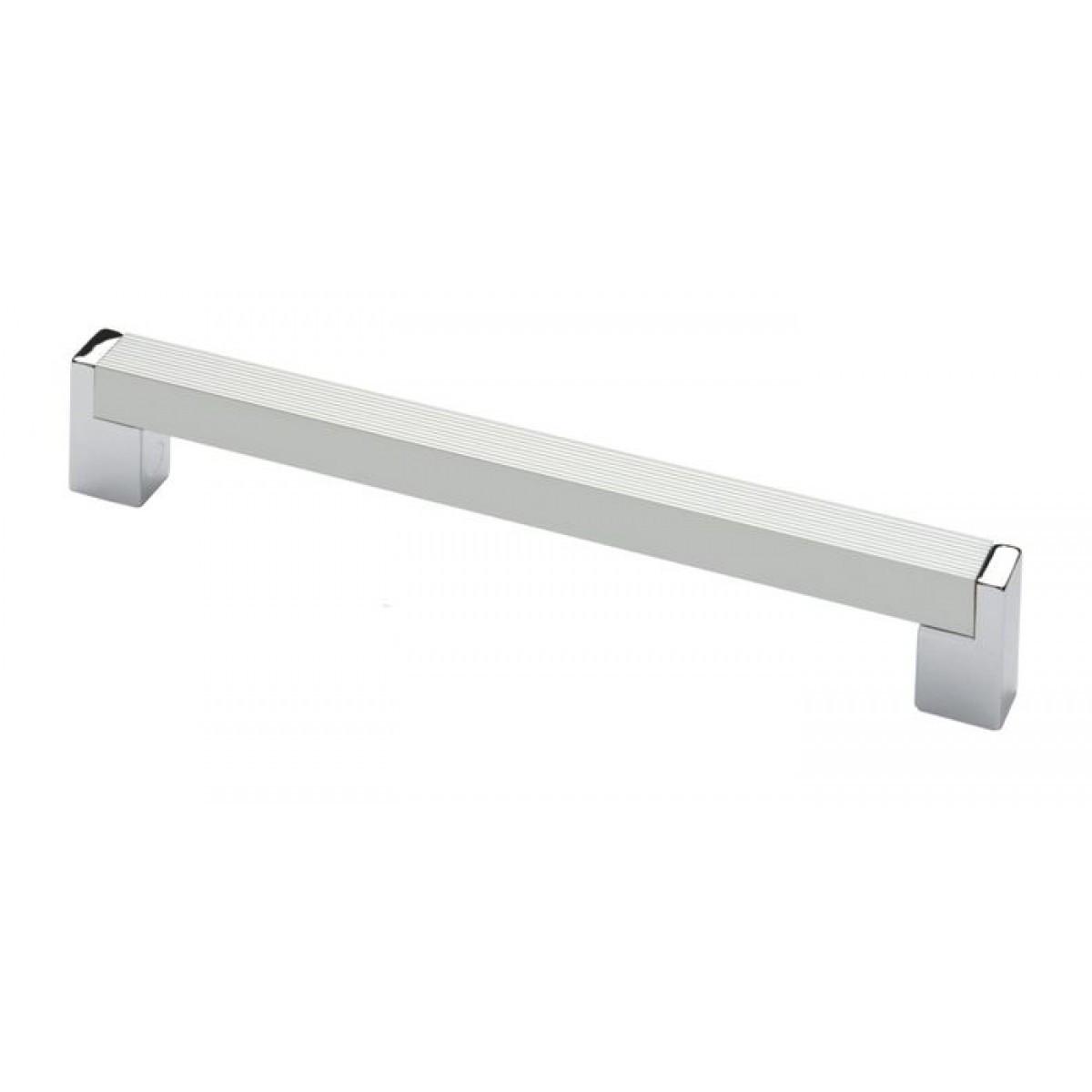 Ручка мебельная Ozkardesler 14.245 ELIT 224мм Алюминий-Хром
