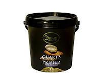 Грунт с кварцевым песком ELF DECOR QUARTZ PRIMER для декоративных штукатурок белый 1л