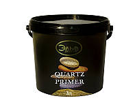 Грунт с кварцевым песком ELF DECOR QUARTZ PRIMER для декоративных штукатурок белый 3л