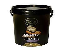 Грунт с кварцевым песком ELF DECOR QUARTZ PRIMER для декоративных штукатурок белый 5л